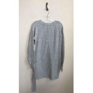 Free People Sweaters - Free People Lace Up Sweater Tunic Dress Size XS 7f2463105